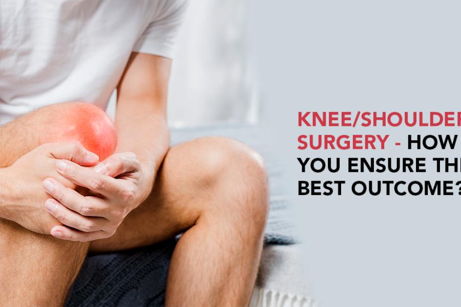 Knee/shoulder surgery